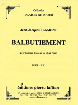 Illustration flament balbutiement