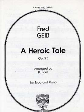 Illustration geib heroic tale op. 25