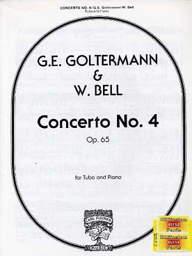 Illustration goltermann concerto n° 4 op. 65