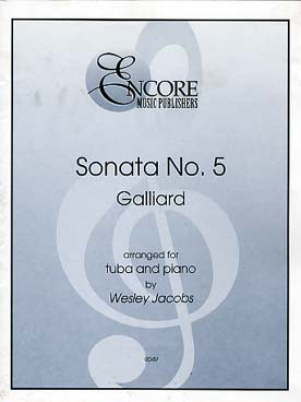 Illustration galliard sonata n° 5